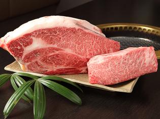 質の高さと旨みをたっぷり含んだ「宮崎牛」や群馬の「上州牛」