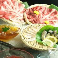 酒の風味で素材を味わう『日本酒しゃぶしゃぶ』