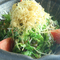 甘味、苦味、瑞々しさなど、野菜本来の味を存分に楽しめるサラダ