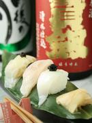 ご要望に合わせてお寿司も握ります。お気軽にお申し付けください