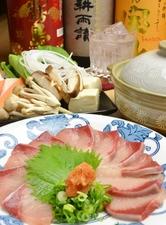【忘年会プラン】『鯛の姿造りと選べる鍋コース』