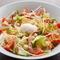 トロ~リ卵がアクセント『温玉とベーコンのイタリアンサラダ』