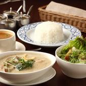 タイ料理の定番を盛り込んだ『タイランチ』