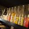 全国の地酒や果実酒の種類もいろいろあります