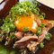 新鮮な鶏肉の味とたまごが相性抜群『大王ユッケ』