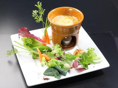 矢崎ファーム・中谷農園の有機野菜を使ったバーニャカウダ