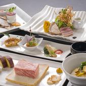 最高級食材が楽しめる『鉄板焼 プレミアムコース』