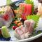 厳選した鮮魚でつくる『お刺身の三種盛り』