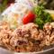 サクッと食べやすい『鶏の唐揚げ』