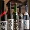 『初搾り』『ひやおろし』を始め、日本酒・焼酎の品揃えが充実
