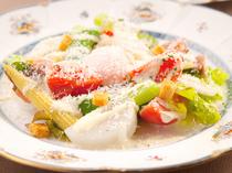 シンプルな調理方法が、食材の旨みを引き出します
