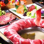 イベリコ豚たれしゃぶが人気です