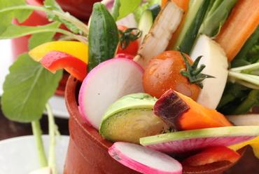 『花里農園直送!こだわりの野菜!!』新鮮さが自慢です
