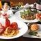 昼は洋食、夜は本格的なイタリアンを