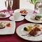 国産牛ローストビーフ、ズワイ蟹、牡蠣のグリルを食べ放題のコース仕立てで<オータムフェア特別コース>