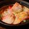 女性客から大人気『厚切りベーコンとアスパラのチーズ焼き』