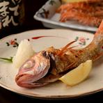 北陸で高級魚で知られる「のど黒」