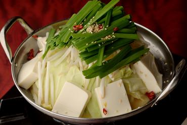 博多の味を提供します『もつ鍋』味噌味、しょうゆ味(二人前)