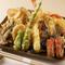 綿実油と太白胡麻油で揚げる天ぷら