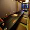 接待や宴会にぴったりな座敷の個室