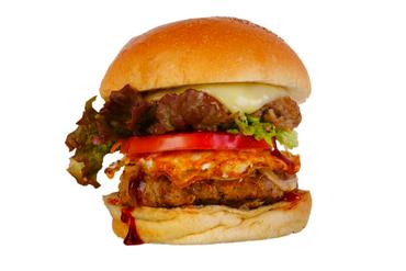 がっつり食べたい方におすすめ『アメリカンバーガー』