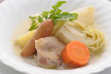 コトコトと12時間。優しくクリアなスープの『ポトフ』(セット)