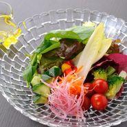 いろいろ野菜たっぷりサラダEXオリーブビネグレット