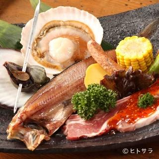 港町盛り2100円 北海道を味わえるお得なプラン。