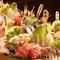 鮮魚の種類豊富な「刺身盛合せ」