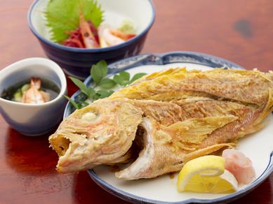 魚バター焼き定食