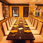 完全個室の8~16名様の席をご用意