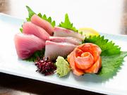 新鮮魚介!! 旬食材の季節メニュー多数!