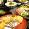 忘年会・新年会にもどうぞ☆ご予約にてメッセージ付の楽しいデザートをサプライズ!