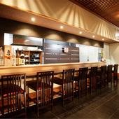 京ならではの会席料理と美味しいお酒を、趣のある店内で