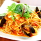 モチモチした食感をお楽しみください『シーフードスパゲッティ』