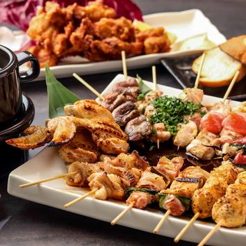 ●肉盛りコース(要予約)2500円~