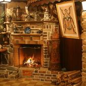 冬は暖炉の炎を眺めながら、ゆっくりしませんか?