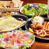 コース料理は、お手頃な1500円からご用意