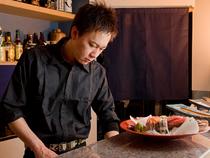 お客さんのことを考えながらつくる料理