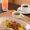 沖縄名物料理が飯山で味わえる  『タコライス(スープ付き)』