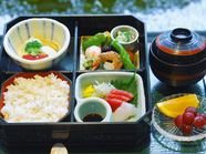 この内容で600kcal。野菜と鮮魚をいただく『低カロリー定食』