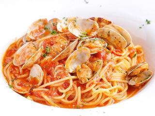 ボンゴレロッソ/真鯛のトマトソース