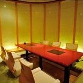 高級旅館の客室を思わせる極上空間