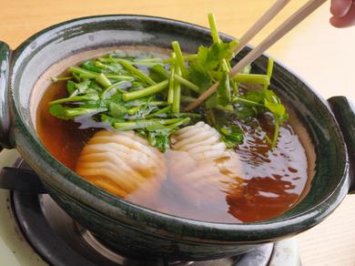 10月からの山さき冬の定番江戸料理『ねぎま鍋』