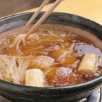 春は相並(アイナメ)を2種の味わい鍋で楽しんでいただけます