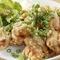 オリジナルのタレが決め手『若鶏の唐揚げ油淋鶏』