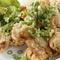 食べ放題でお腹も満足『若鶏の唐揚げ油淋鶏』