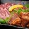 色々なお肉が楽しめる、亀田精肉店おすすめのコース。 120分食べ放題(90分ラストオーダー)