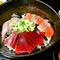 ◆こだわりの朝獲れ鮮魚を◆三種海鮮の海鮮丼
