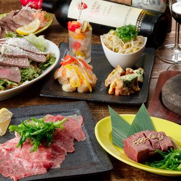 4名様以上限定!肉バルMuuの【肉得・nikutoku コース】